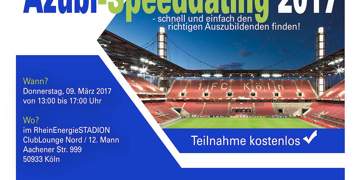 Azubi Speed Dating Köln Rheinenergiestadion